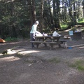 Van Damme Beach campground site 33